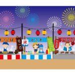 ふじさわ江ノ島花火大会の屋台の出店場所・時間・メニューについて